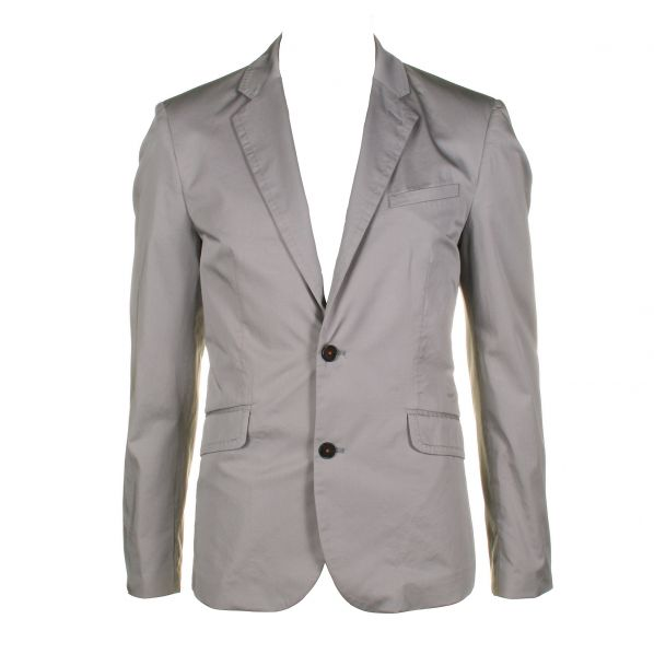 Ted Baker Mens Plicto Light Grey Blazer Jacket